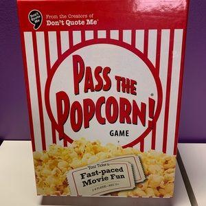 Pass The Popcorn Brand New Game